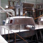 White Fused Alumina melting furnace-www.smalleaf.com
