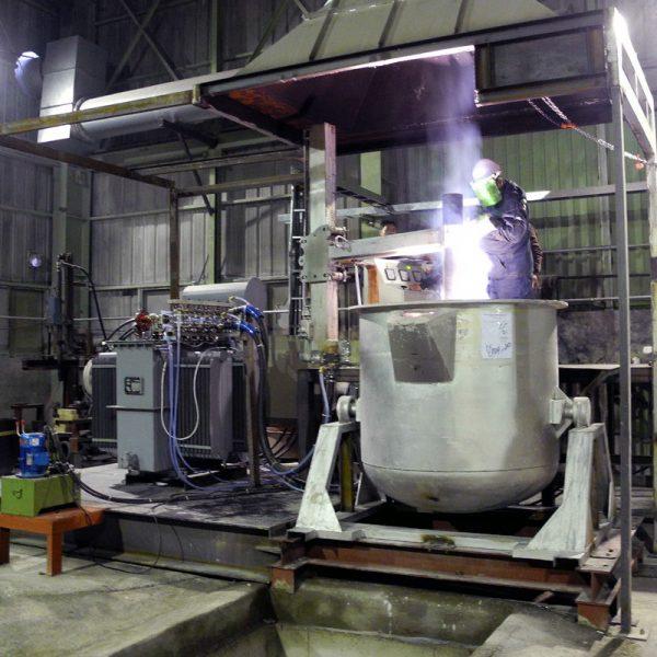 electric dc arc furnace-6